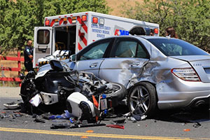 motorcycle accident attorney | Burnett Law AZ